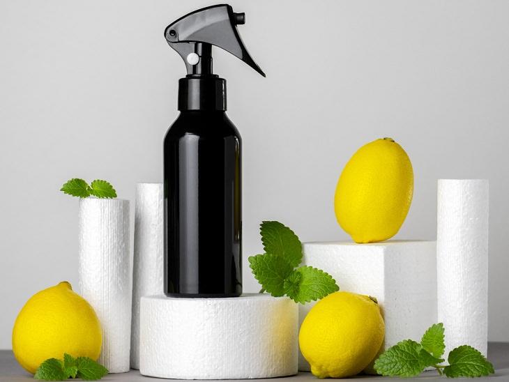 DIY Natural Hairsprays, Lemon Hairspray