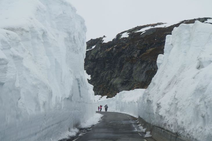 Life In Norway in 14 Fascinating Images snowy spring