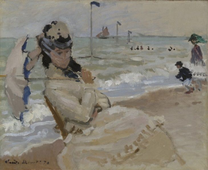 Beach Paintings, The Beach at Trouville