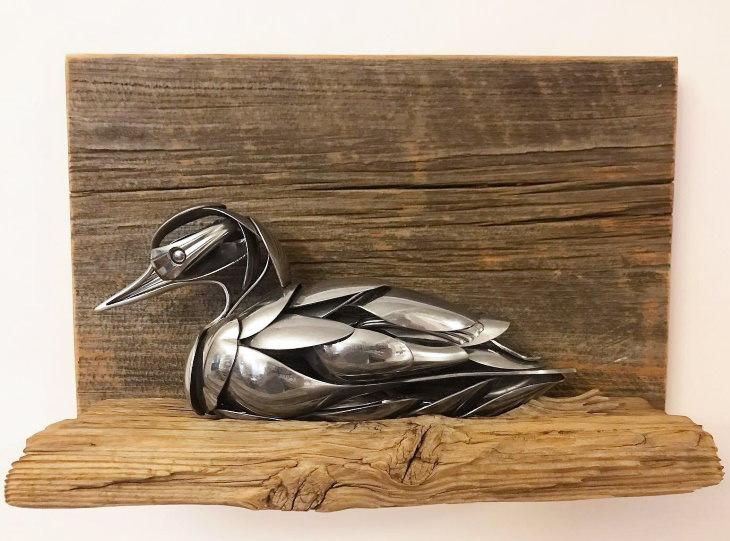 Animal Art by Matt Wilson duck