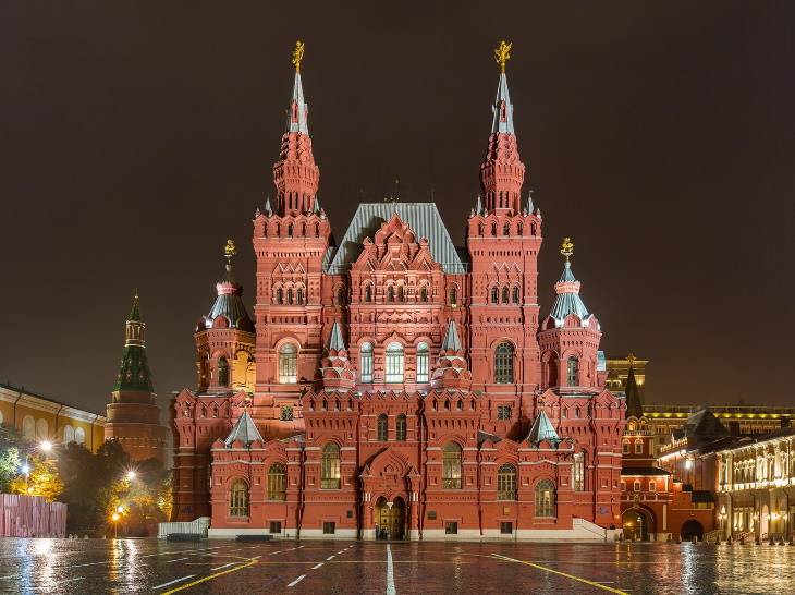 Unique Museums The State Historical Museum in Moscow, Russia