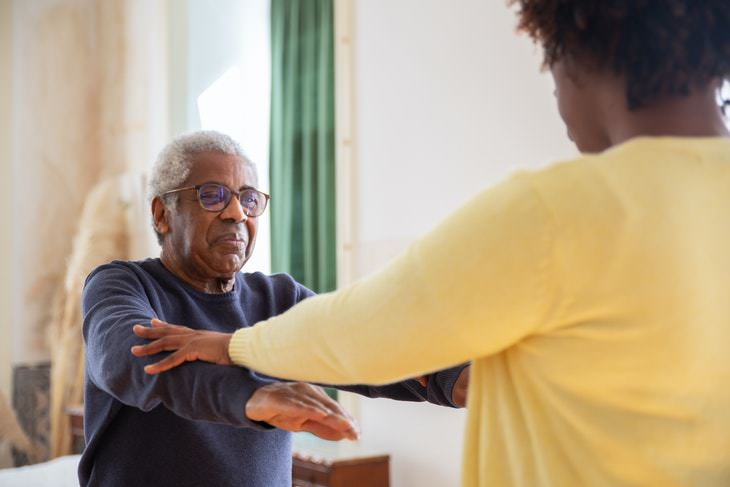 Exercises For Stroke Survivors passive stretching