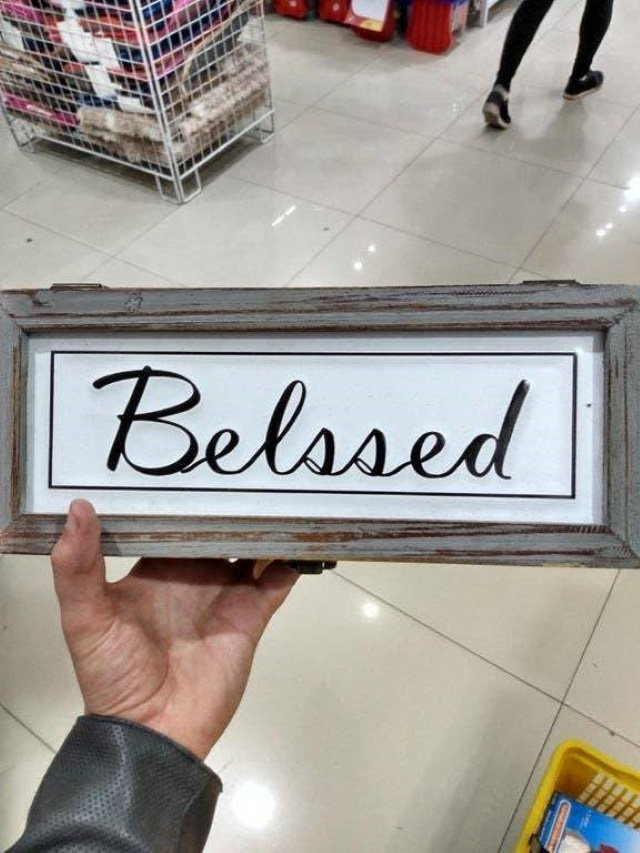 Funny Spelling Mistakes blessed