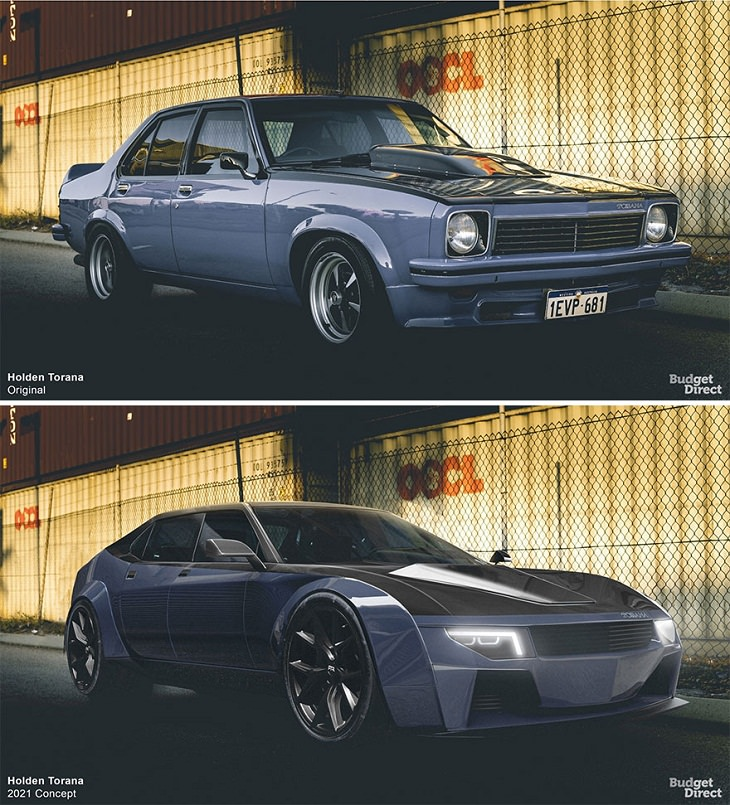 Discontinued Cars Reimagined, Holden Torana