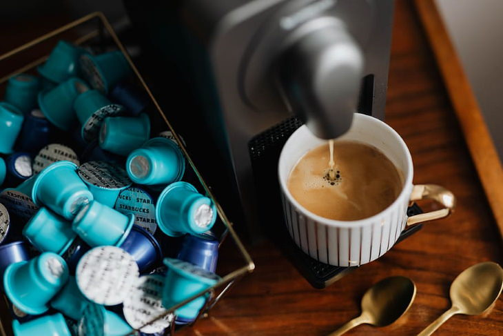 Health Hazards at Home Coffee capsules