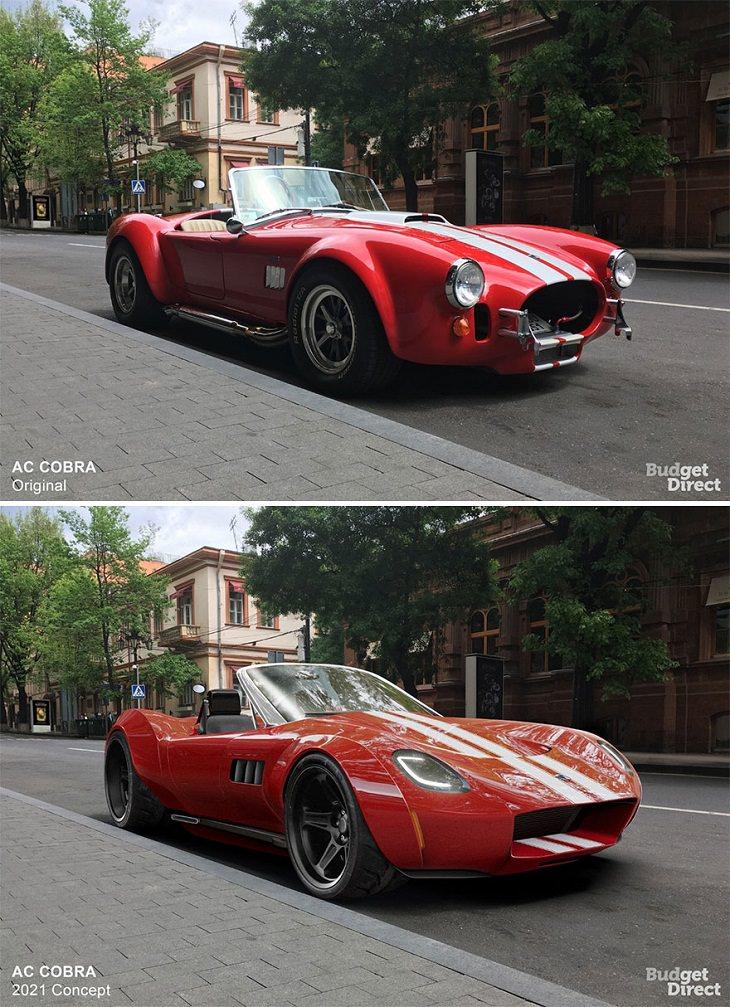 Discontinued Cars Reimagined, AC Cobra