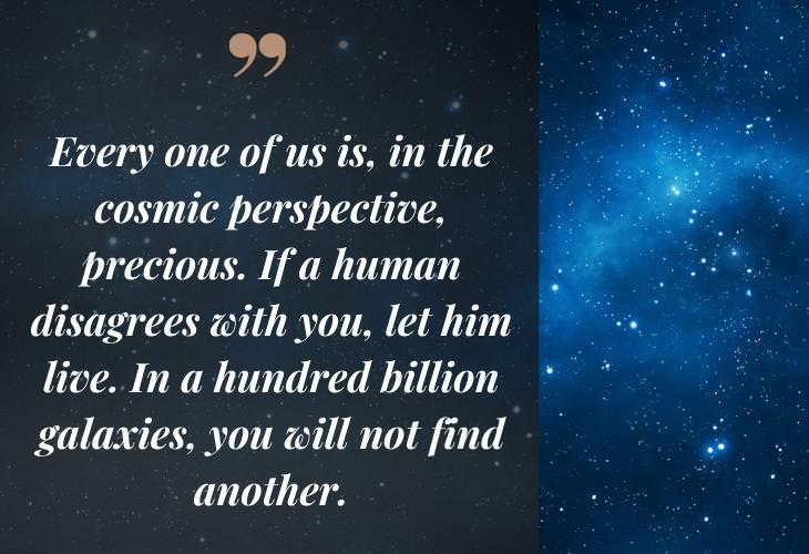 Carl Sagan Quotes, cosmic