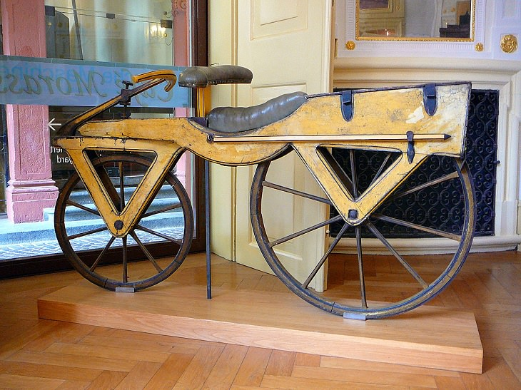 the first ever bicycle