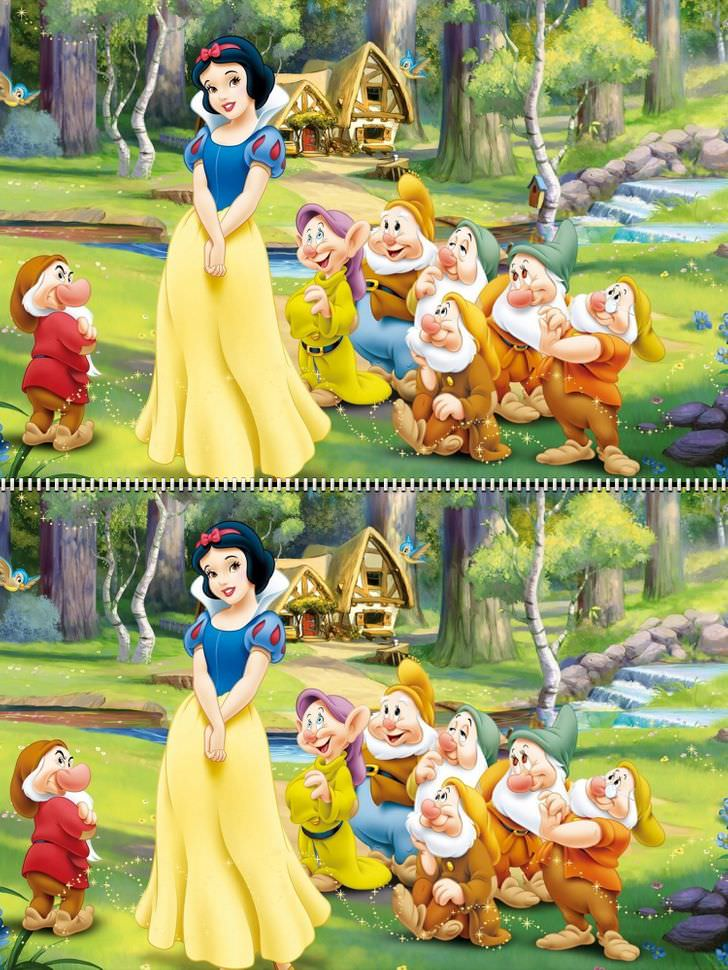 Find the differences Disney Snow White