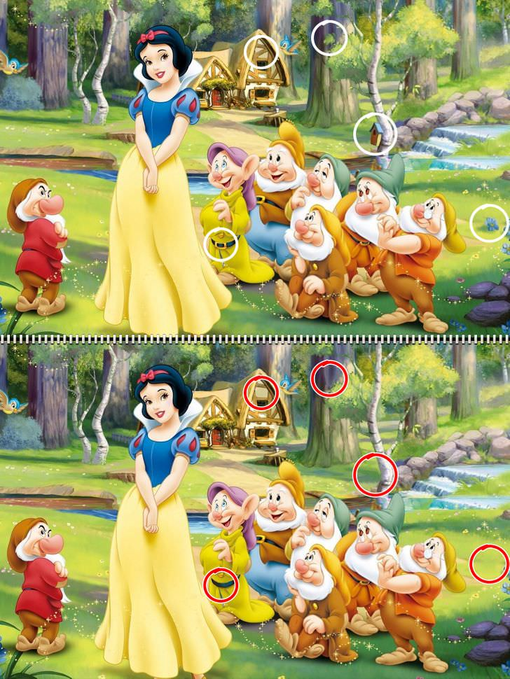 Find the differences Disney