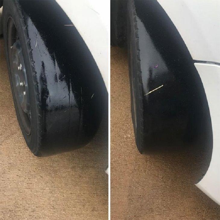 Driving Fails, tires