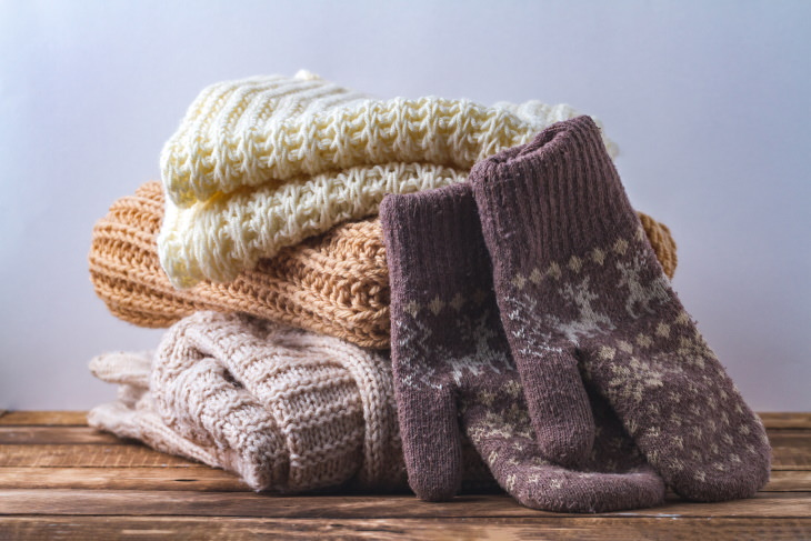 Items You Don't Need to Clean Often Warm winter clothing