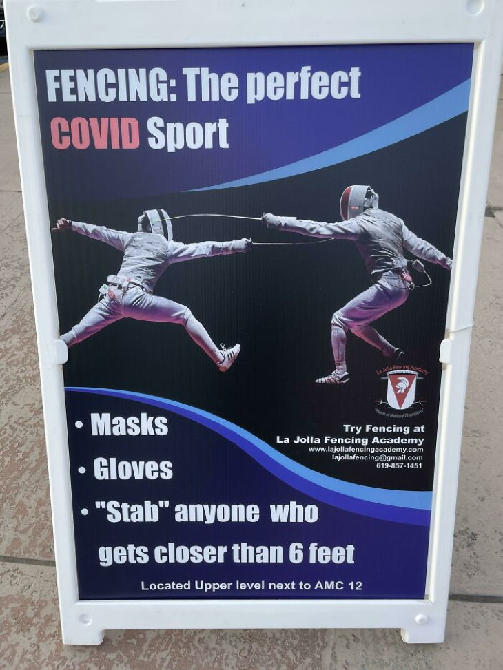 Funny Signs fencing