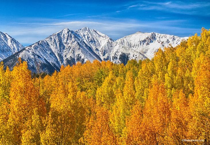 Fall Foliage Destinations in the US Aspen, Colorado