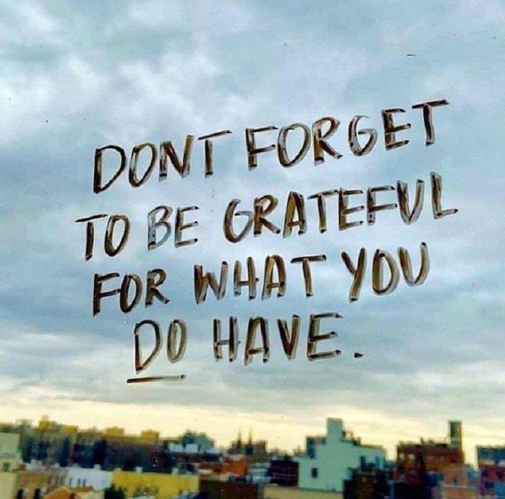 Inspirational Words of Wisdom, grateful