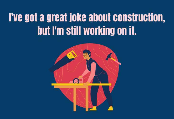 Hilariously Bad Jokes, construction