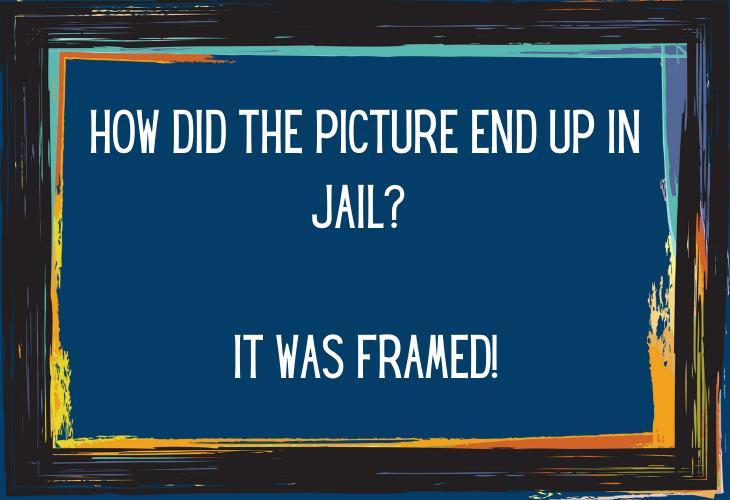 Hilariously Bad Jokes, frame