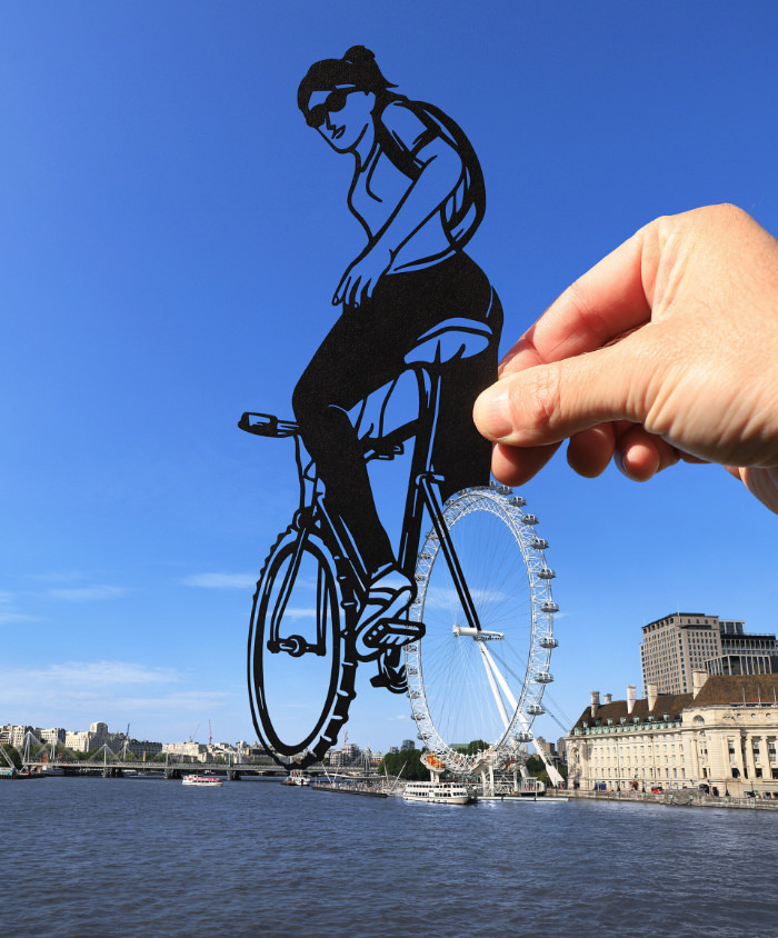 Paper Cutouts by Paperboyo