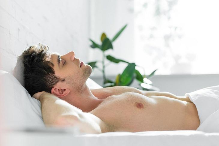 Sleep On Back Skin Benefits,  sunlight on face