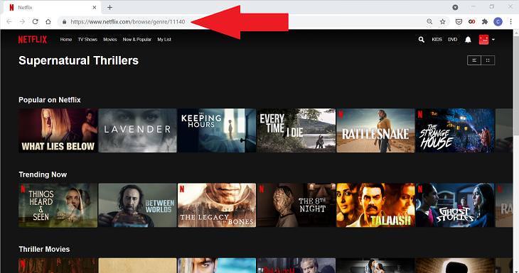 Netflix Tips, Tricks, & Hacks, hidden categories