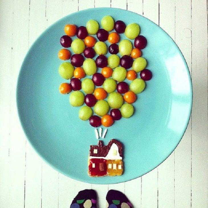 Food Art, grapes