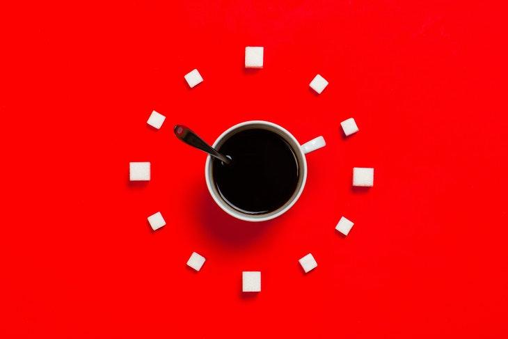 diabetes diet myths coffee and sugar cubes