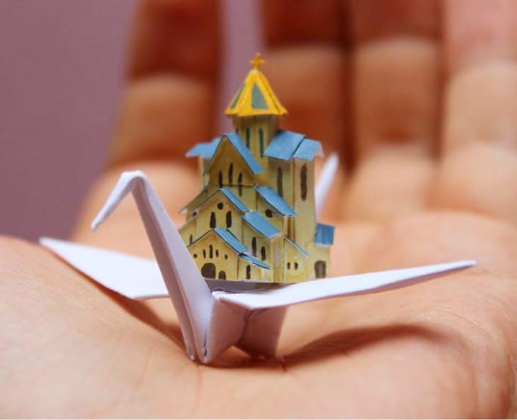 Cristian Marianciuc paper cranes