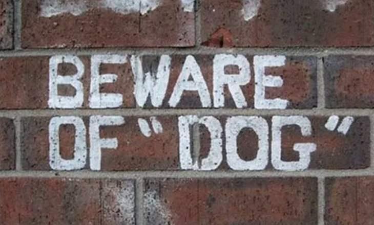Hilariously Misused Quotation Marks, dog