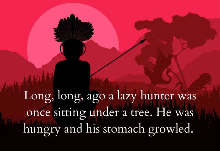 Inspiring African Folktales, hunter