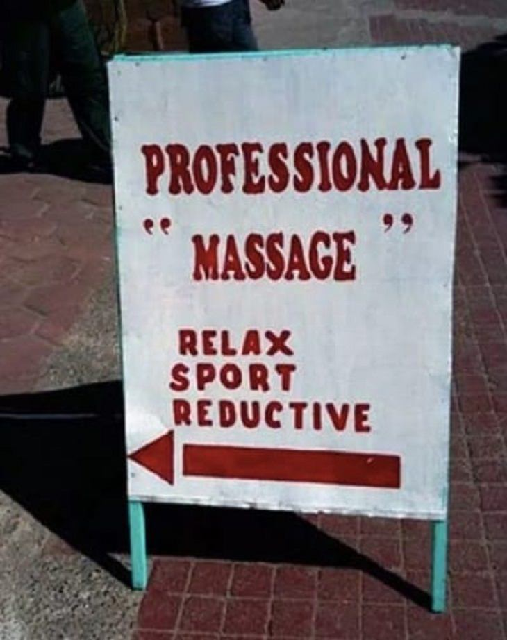 Hilariously Misused Quotation Marks, massage