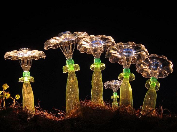 plastic plant sculpture