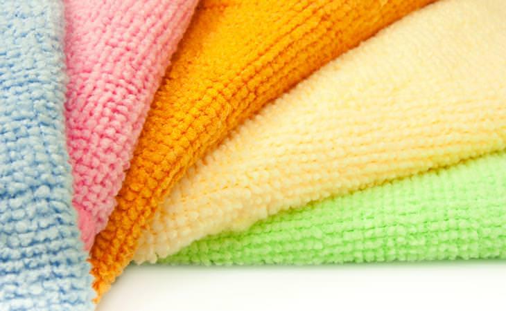 Medium weight Microfiber Towels