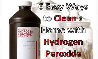 6 Surprising Home Uses for Hydrogen Peroxide