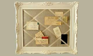 25 Uses for Old Picture Frames