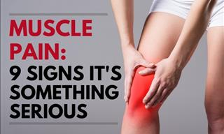 Muscle Pain - 9 Signs It's Something More Serious