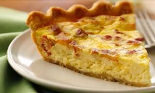 Recipe for a Tasty Bacon and Cheese Quiche