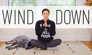 Ensure a Good Night's Sleep with This Easy Yoga Practice