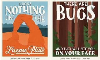 Terrible National Park Reviews Illustrated