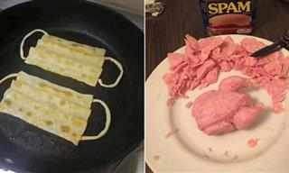 22 Funny Photos of People Being Too Creative With Food!