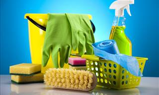 How to Break These 10 Common Bad Cleaning Habits