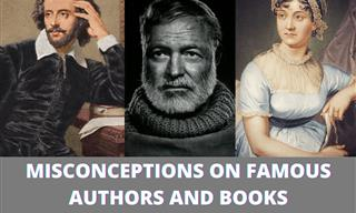 8 Myths On Famous Authors and Books Corrected