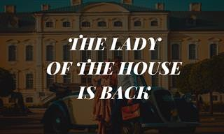 Joke: The Lady of the House