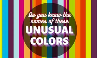 10 Uniquely Weird Colors And Where They Originated
