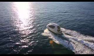 Jet Capsule - The Smallest Yacht You've Ever Seen!