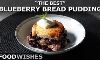 This Extra Moist Blueberry Bread Pudding is Just So Yummy!