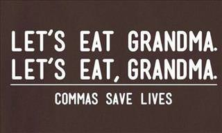 14 Rather Funny Grammar Jokes