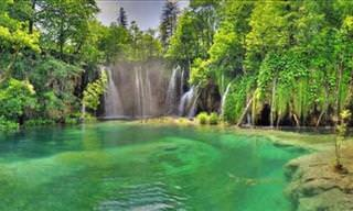 Plitvice National Park is a Thing of Beauty