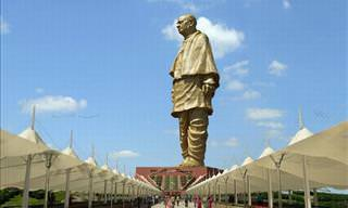 The Statue of Unity Nears Completion In India