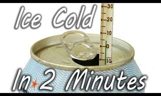 Cool Down That Drink in 2 Minutes