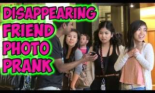 Silly Fun: The Disappearing Friend!